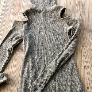 Grey body on sweater dress Urban Outfitters